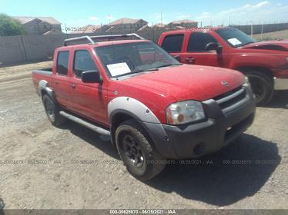 1N6ED27T32C376082 2002 NISSAN FRONTIER 2WD XE - фото 1