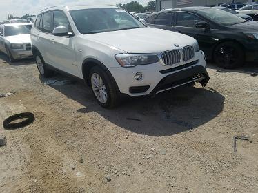 5UXWX9C53G0D73689 2016 BMW X3 XDRIVE28I - фото 1