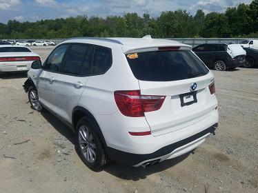 5UXWX9C53G0D73689 2016 BMW X3 XDRIVE28I - фото 2