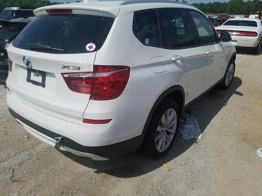 5UXWX9C53G0D73689 2016 BMW X3 XDRIVE28I - фото 3