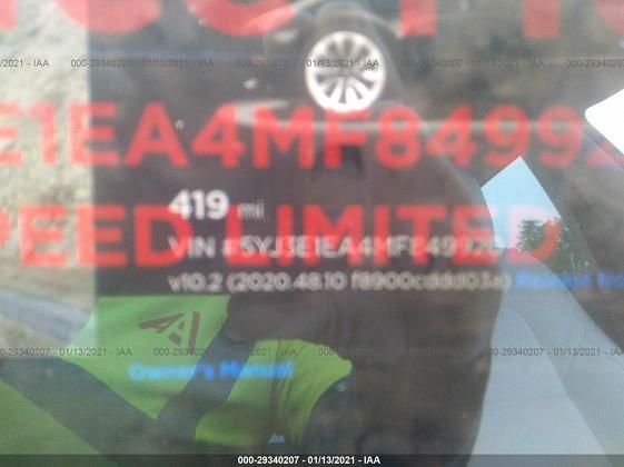 5YJ3E1EA4MF849920 2021 TESLA MODEL 3 - фото 7