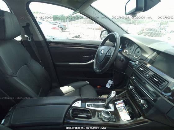 WBA5A5C57ED510933 2014 BMW 5 SERIES I - фото 3
