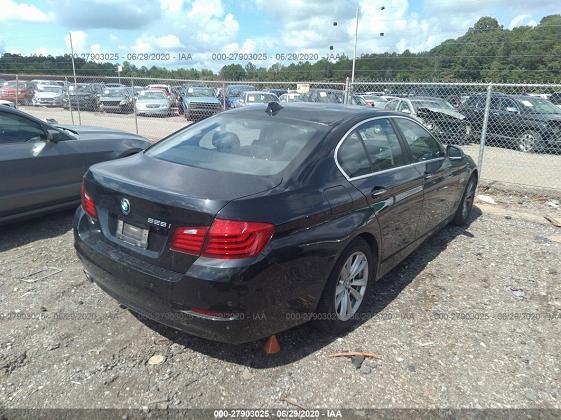WBA5A5C57ED510933 2014 BMW 5 SERIES I - фото 2