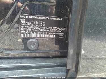 WBA5A5C57ED510933 2014 BMW 5 SERIES I - фото 8