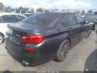 WBAFR9C53BC757114 2011 BMW 550 I - фото 2