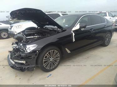 WBAJA5C58JWA57289 2018 BMW 530 I - фото 1